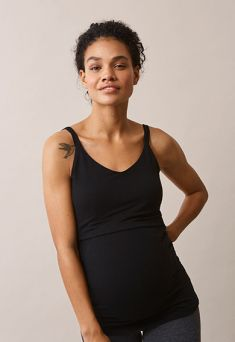 BOOB Easy singlet Maternity and Nursing, black