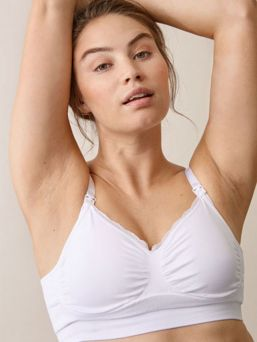 Boob Design Nursing Bra Fast Food is a soft, seamless bra with a perfect fit both during pregnancy and nursing.