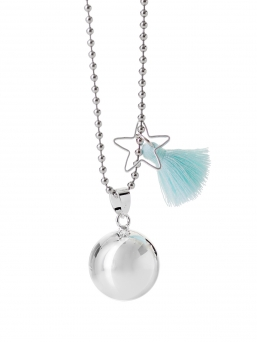 BOLA - harmony bola 18mm with tassel (turquoise)