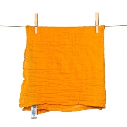 SNUTTEN Burp cloth 3+3pcs (orange)