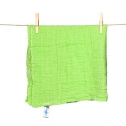 SNUTTEN Burp cloth 3+3pcs (lime green)