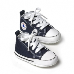 First Star Crib first step shoes NAVY BLUE - CONVERSE