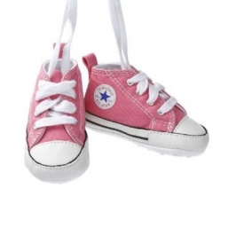 First Star Crib first step shoes PINK - CONVERSE