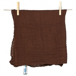 SNUTTEN Burp cloth 3+3pcs (brown)