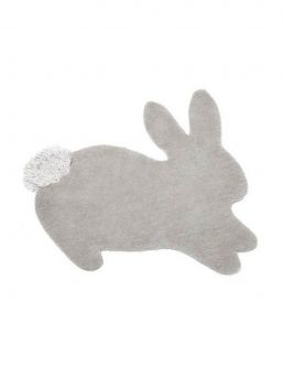Complete baby nursery with this Mamas & Papas delightful bunny shaped rug.