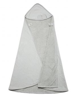 Wrap and cuddle your little one with Fabelab Hooded Towels in the softest organic cotton terry. Fabelab cozy and absorbent wrap towels are bound around all edges and offers your child a warm welcome after bath time.