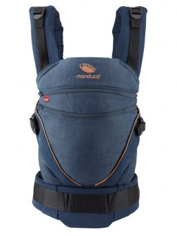 Manduca XT all-in-one carrier, denimblue-toffee