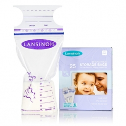 Breastmilk Storage Bags (25pcs) | LANSINOH