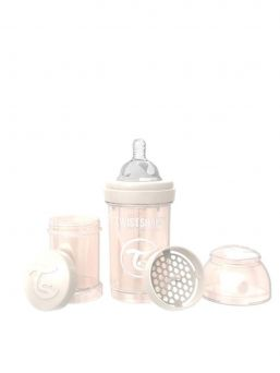 TwistShake Baby Bottle 180ml (pearl champagne)