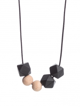 Nursing Necklace (nature black)