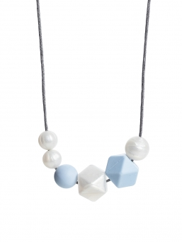 Nursing Necklace (pearl pearl-lightblue)