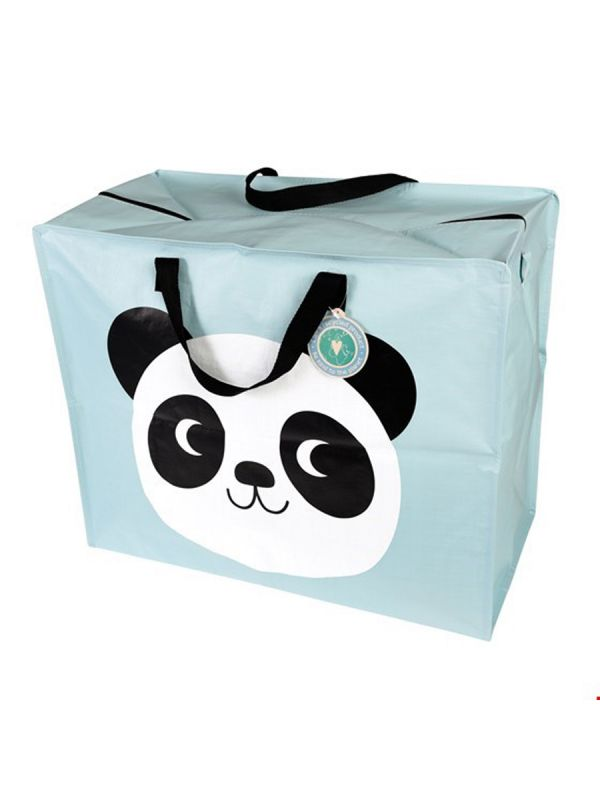 Rex London fab flexible large zipped storage bag. Ideal for laundry, shopping or general home use.