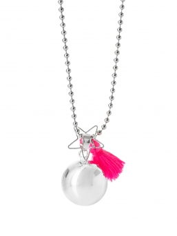 BOLA - harmony bola 18mm with tassel (pink)