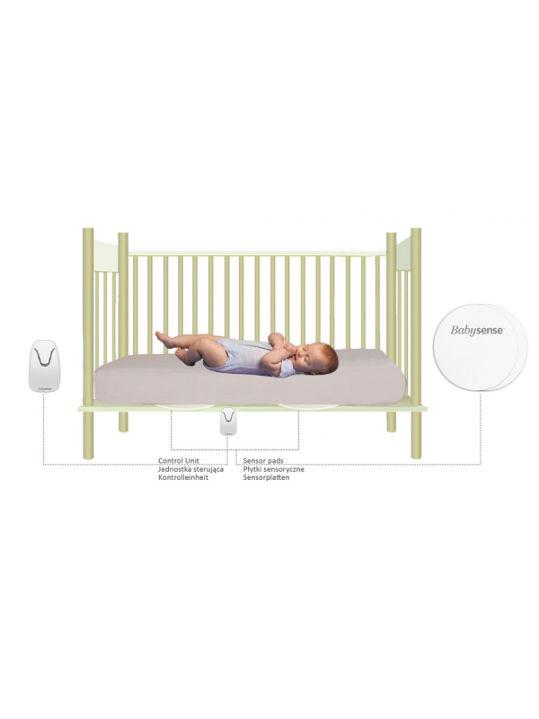 Babysense Movement monitor is a highly sensitive non-touch baby Breathing Movement Monitor.  Now parents can get the piece of mind while their baby sleeps.