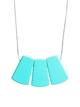 Nursing Necklace (turquoise drop)