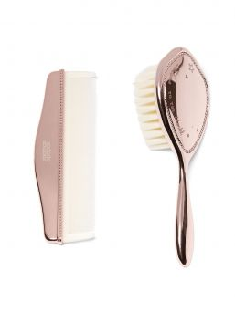 Mamas&Papas rosegold Brush & Comb Set