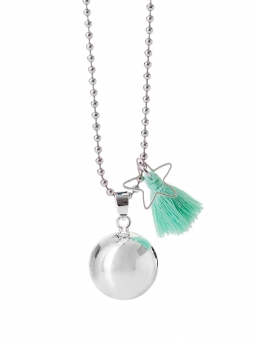 BOLA - harmony bola 18mm with tassel (green)