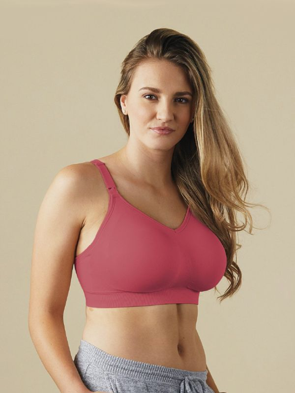 The Body Silk Seamless Nursing Bra melts onto your body and gives you comfort unlike anything you've experienced from a nursing bra before.