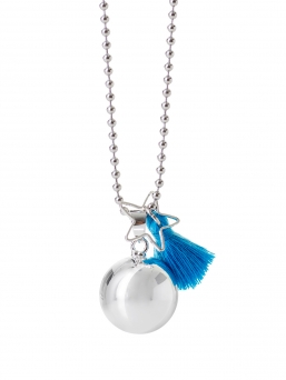 BOLA - harmony bola 18mm with tassel (blue)