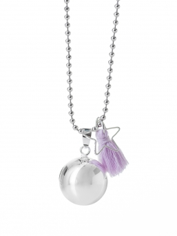 BOLA - harmony bola 18mm with tassel (violet)