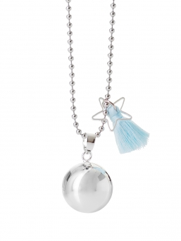 BOLA - harmony bola 18mm with tassel (baby blue)