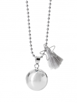 BOLA - harmony bola 18mm with tassel (grey)