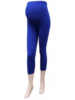 Maternity leggings (blue)