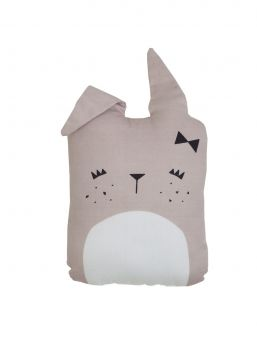 The cute Fabelab bunny cushion is a beautiful design element for the kid