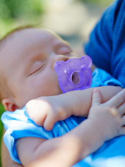 Soothie pacifiers 0-2 mth (boy) | Philips AVENT