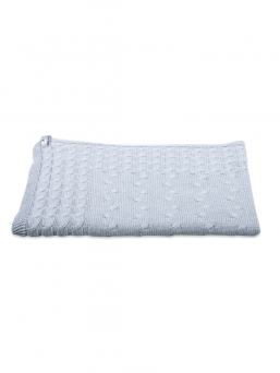 Baby Crib Blanket Cable | Baby´s Only (grey)