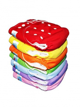 BABYLAND cloth diaper + microterry insert