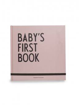 Design Letters Baby´s First Book babybook (rosa)