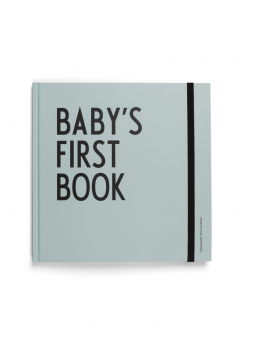 Design Letters Baby´s First Book babybook (turquoise)