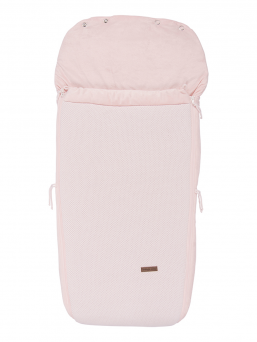 A larger Baby´s Only footmuff designed for strollers. The tfootmuff keeps the baby warm for even longer rides and when the child is sleeping on the stroller. The footmuff has a handy zipper that can be easily open and close.