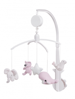Musical mobile | BABY´S ONLY (pink)