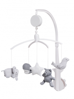 Musical mobile   BABY´S ONLY (grey)
