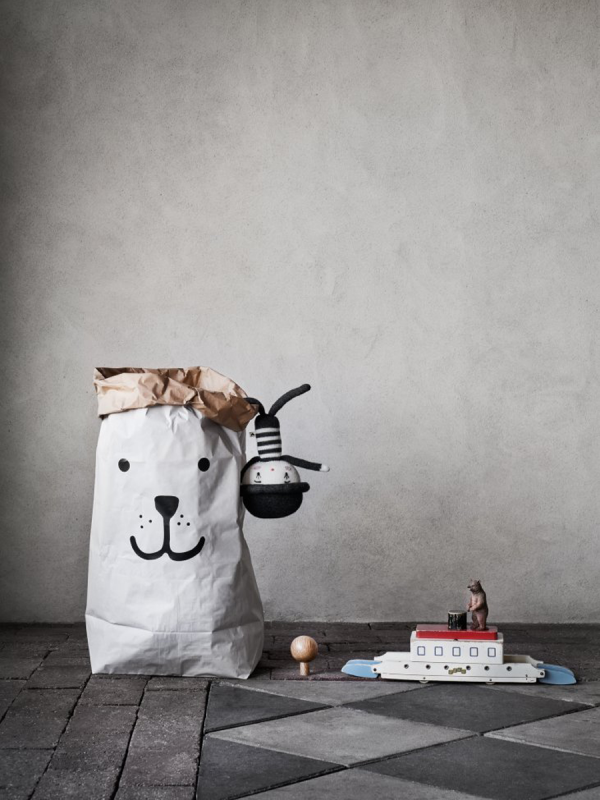 Tellkiddo paper bag (bear)
