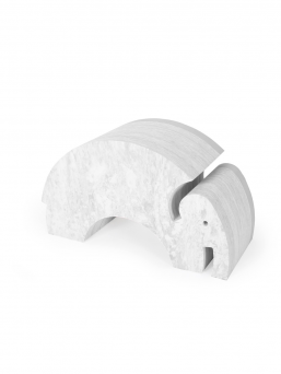 bObles Elephant marble-grey, developing the child's motorcycles
