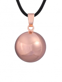 BOLA - plain silverplated 20mm (rose gold)