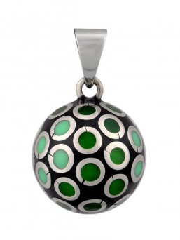 BOLA - multicolor ball (green)