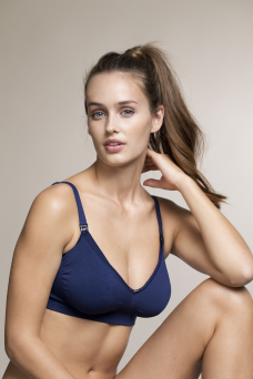 BOOB Nursing Fast Food bra (navy)