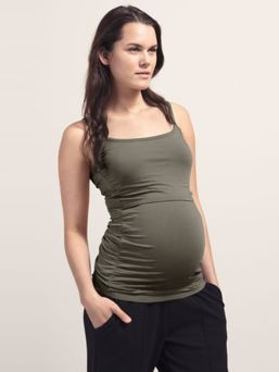 Boob Design Singlet with doubel function for pregnany and nursing. Adjustable shoulder straps.