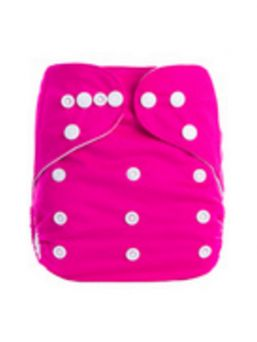 BABYLAND cloth diaper + microterry insert (pink)