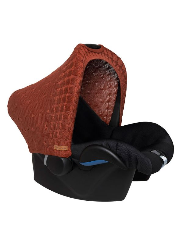 Baby's Only Baby's Only protective cover for baby car seat (brique)