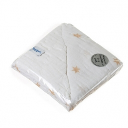 SNUTTEN Burp cloth 3+3pcst (gold stars)