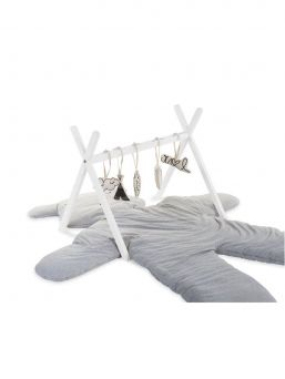 Childhome Tipi Play Gym for baby (white)