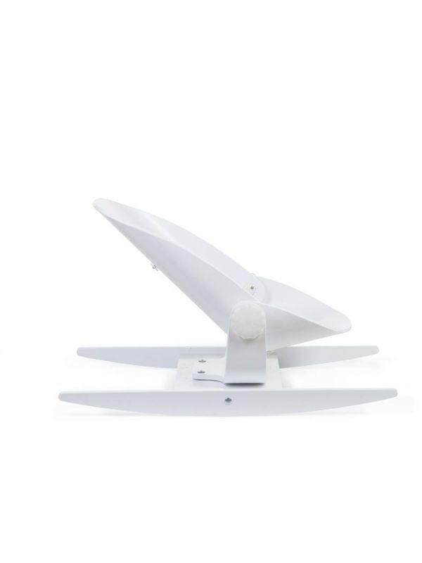 Childhome Wood Rock White Bouncher. The Woodrock is our new baby rocker which allows the baby to rock from back to front and from left to right depending on the assembly.