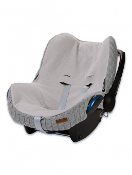 Baby's Only seatcover for baby car seat (grey)