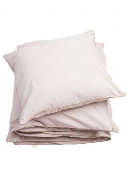 Soft Fabelab organic cotton bedding set that feels lovely on the baby's skin.
