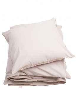 Soft organic cotton bedding set that feels lovely on the baby's skin.